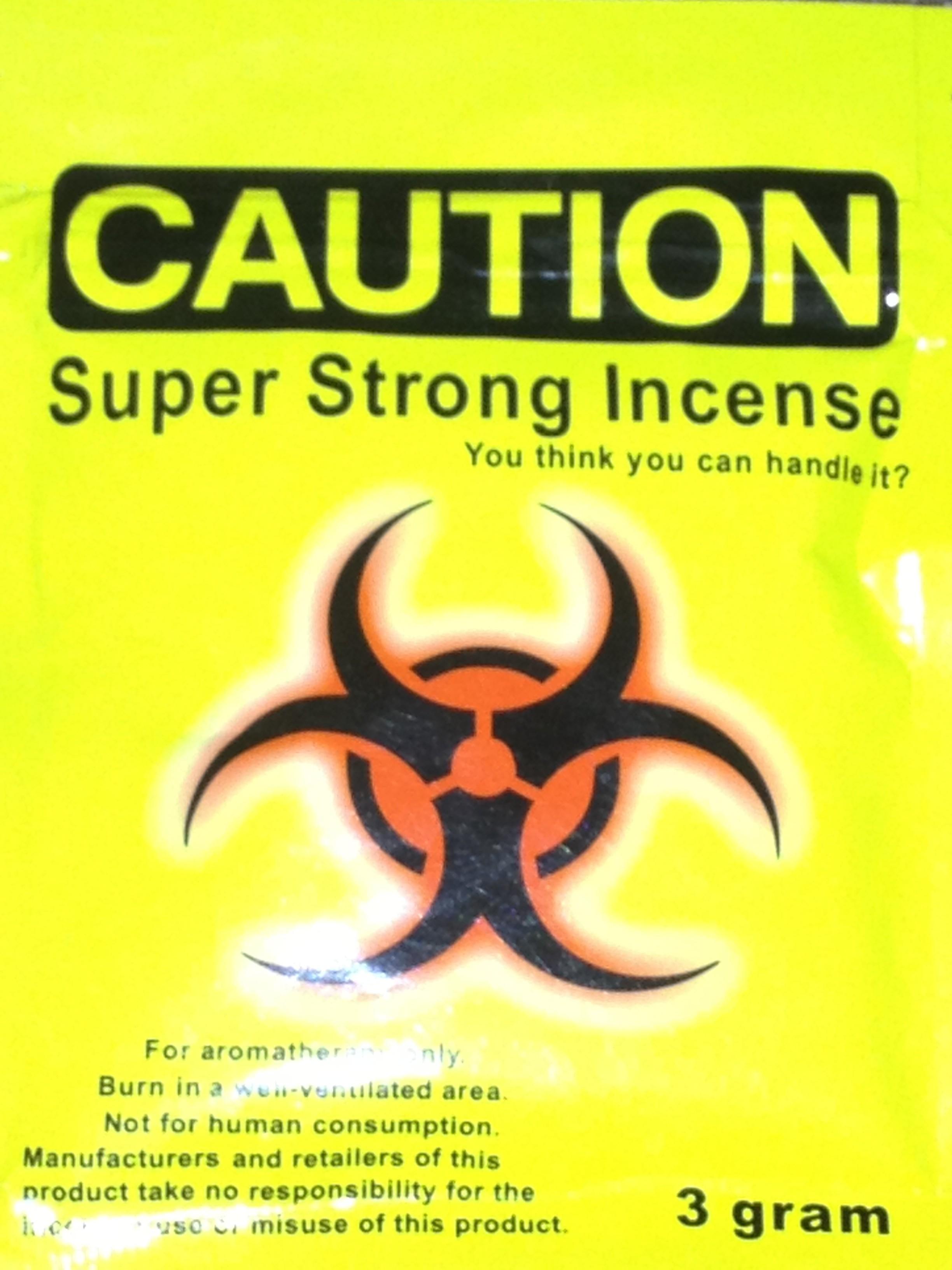 Caution Incense 3G